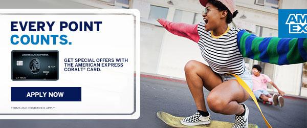 Perkopolis: American Express Cobalt™ Card