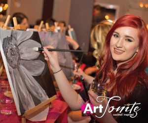 Art Tonite: Cocktail Paint Parties