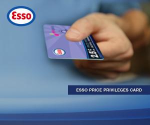Esso Price Privileges Card